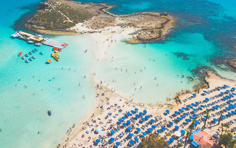 Protaras, Ayia Napa rated Europe's best beaches!