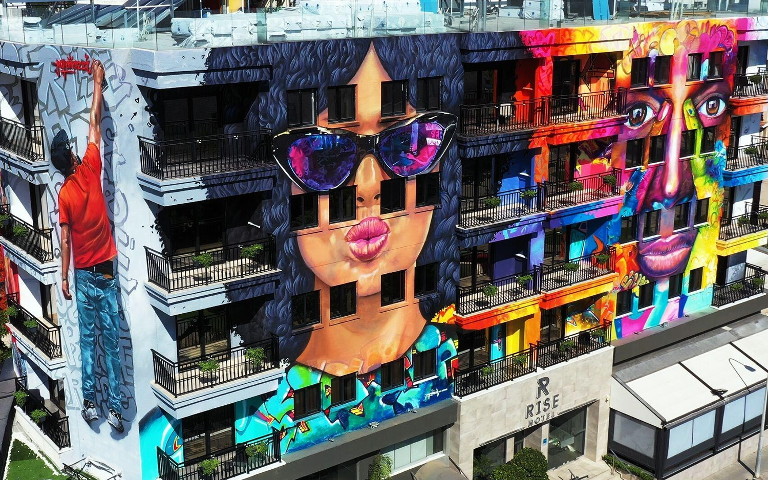 Cyprus gets its very own graffiti hotel in Larnaca!